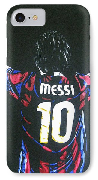Lionel Messi - Barcelona Fc IPhone Case