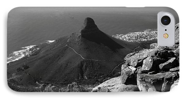 Republic Of South Africa iPhone 8 Case - Lions Head - Cape Town - South Africa by Aidan Moran