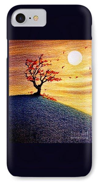 Little Autumn Tree IPhone Case