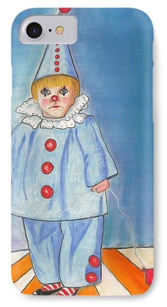 Little Blue Clown IPhone Case