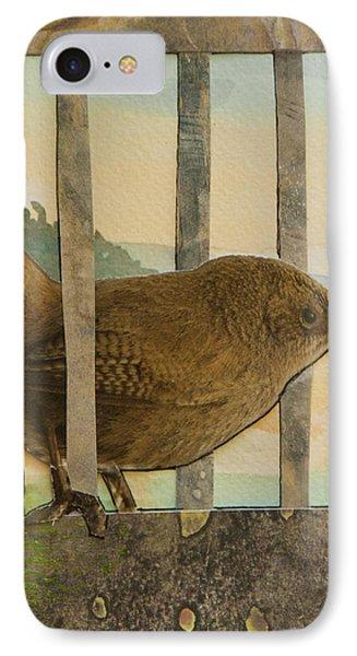 Little Brown Bird IPhone Case