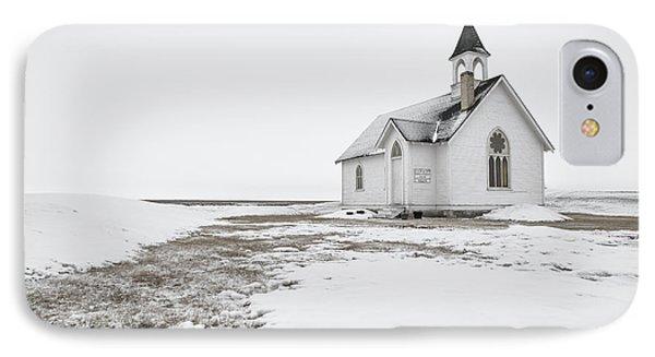 Little Church In The Prairies IPhone Case