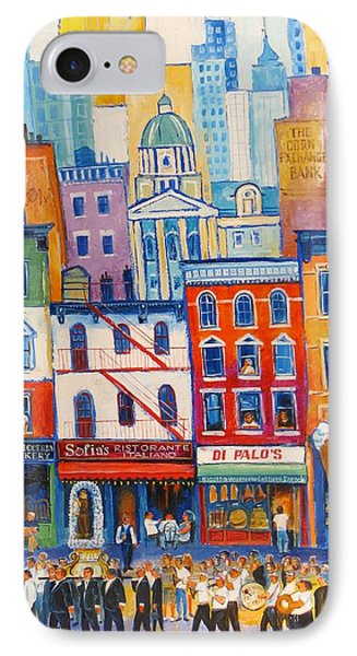 Little Italy New York IPhone Case