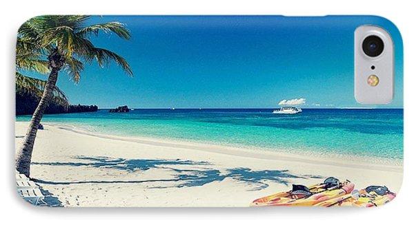 Live In The Sunshine Swim In Sea IPhone Case
