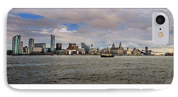 Liverpool Skyline IPhone Case