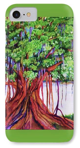 Living Banyan Tree IPhone Case