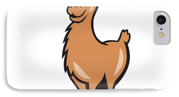 Llama Cartoon IPhone Case