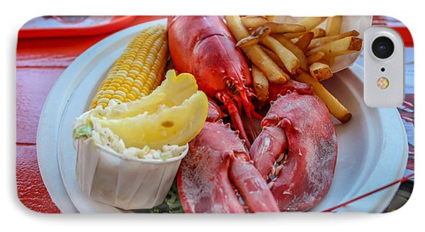 Lobster Dinner  IPhone Case
