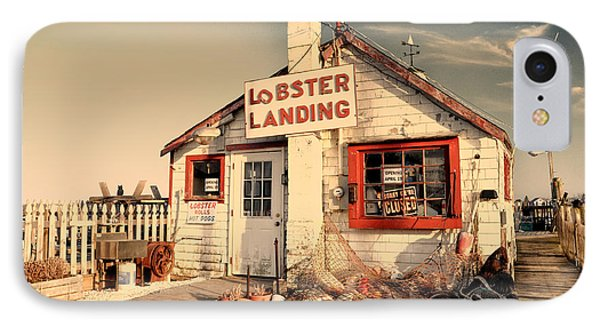 Lobster Landing Clinton Connecticut IPhone Case