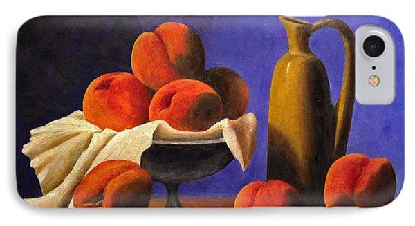 Local Peaches Oil Painting IPhone Case