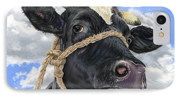 Cow iPhone 8 Case - Lola by Sarah Batalka