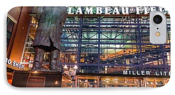 Lombardi At Lambeau IPhone Case