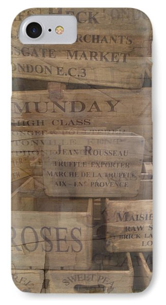 London Market Traders Crates IPhone Case