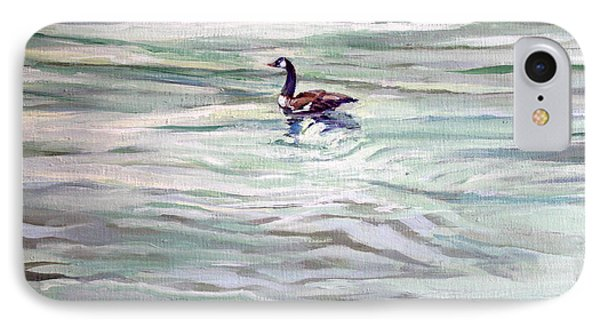Lone Goose On Hammersley IPhone Case