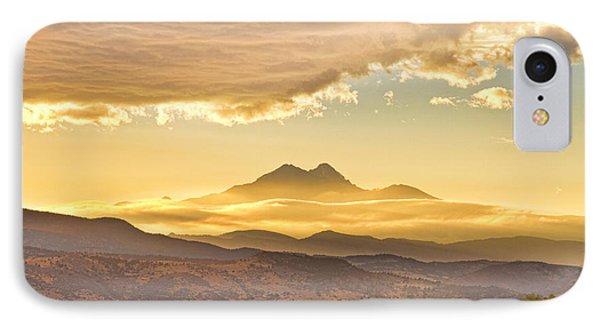 Longs Peak Autumn Sunset IPhone Case