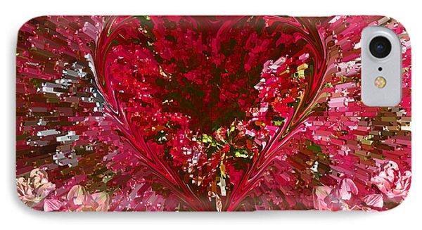 Look Deep Into My Heart IPhone Case