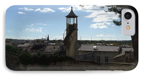 Look Out Tower On The Approach To Beaucaire Castle IPhone Case