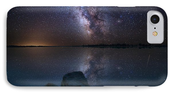 Looking At The Stars IPhone Case
