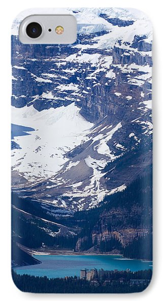 Looking Down At Lake Louise #2 IPhone Case