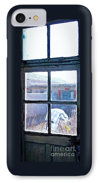 Looking Out The Kitchen Door In February IPhone Case
