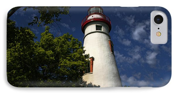 Looking Up To Marblehead Light IPhone Case