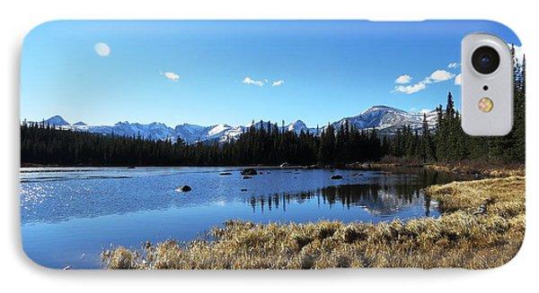 Looming Winter In The Rockies IPhone Case