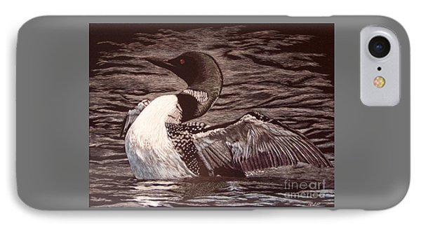 Loon Dance IPhone Case