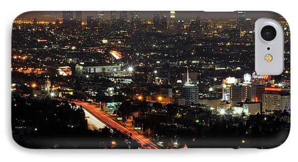 Los Angeles Lights IPhone Case