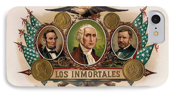 Los Inmortales Cigar Box Label IPhone Case