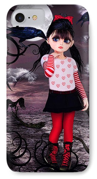 Lost Little Girl IPhone Case