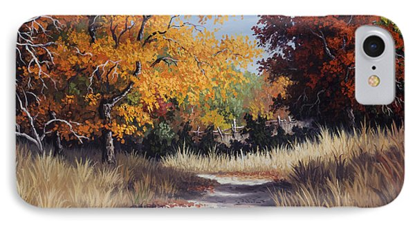 Lost Maples Trail IPhone Case