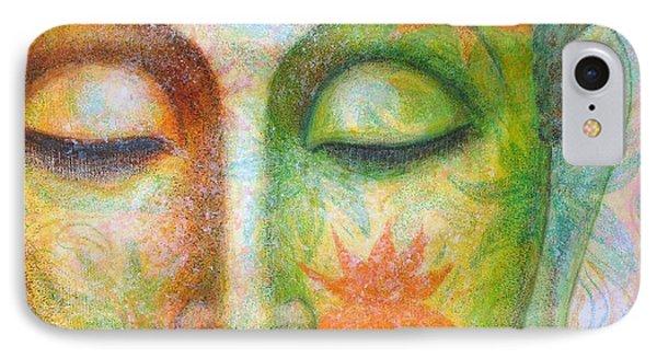 Lotus Meditation Buddha IPhone Case