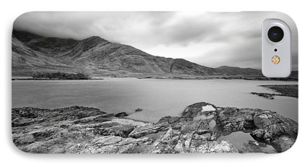 Lough Doo In Mono IPhone Case