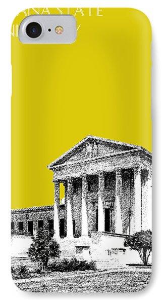Louisiana State University 2 - Mustard IPhone Case