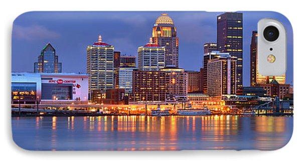 Louisville Skyline At Dusk Sunset Panorama Kentucky IPhone Case