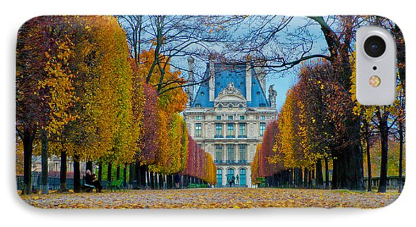 Louvre In Fall IPhone Case