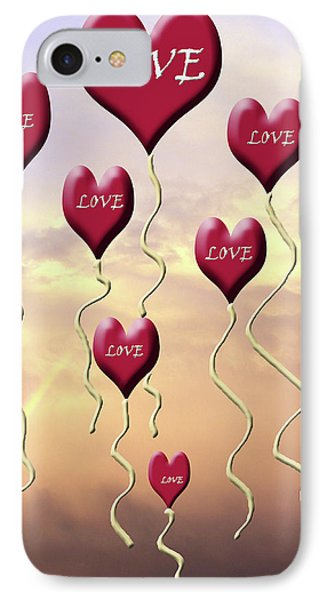 Love Is In The Air Sunshine Rainbow IPhone Case