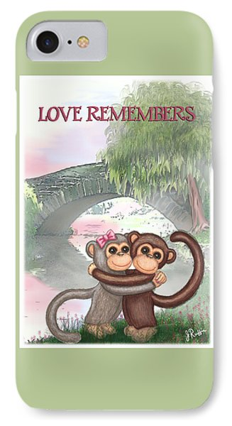 Love Remembers IPhone Case