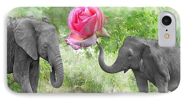 Love-rose IPhone Case