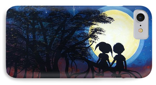 Love Under The Banyan Tree IPhone Case