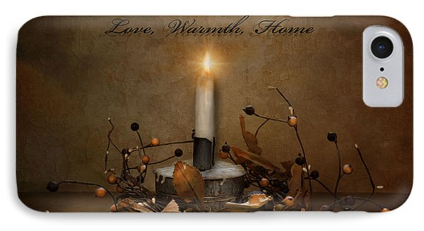 Love Warmth Home IPhone Case