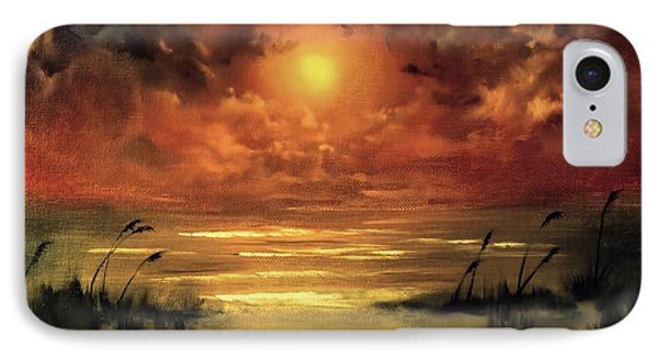 Lovers Sunset IPhone Case