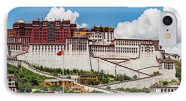 Low Angle View Of The Potala Palace IPhone Case