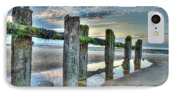 Low Tide Groynes IPhone Case