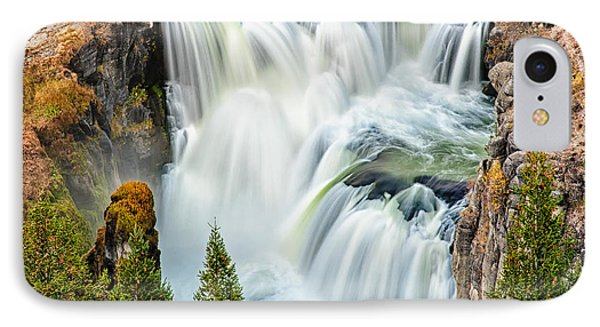 Lower Mesa Falls IPhone Case