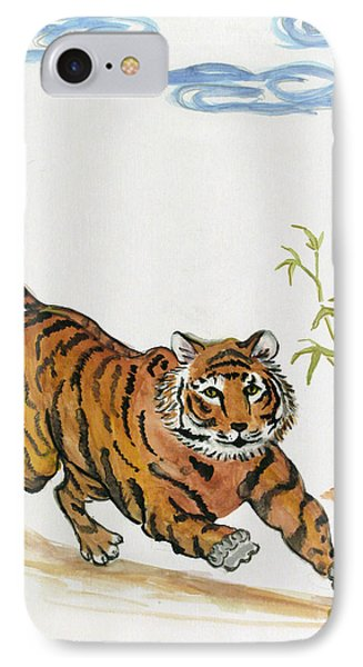 Lucky Tiger IPhone Case