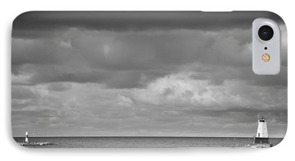 Ludington Black And White IPhone Case