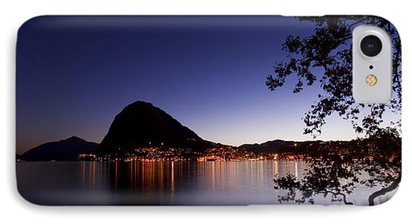 Lugano By Night IPhone Case