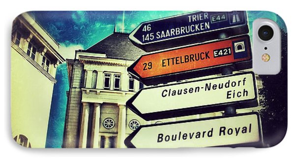 Luxembourg City IPhone Case