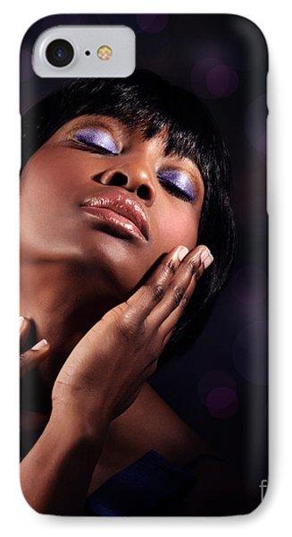 Luxury Woman's Portrait IPhone Case